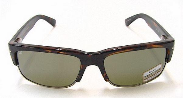dark polarized sunglasses  dark tortoise /