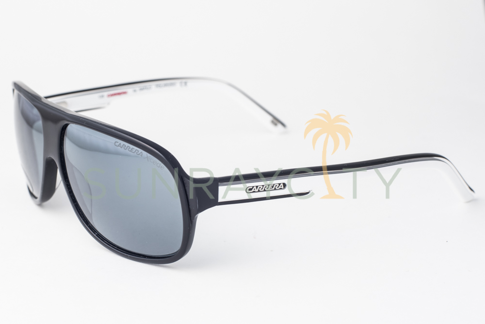 0b97608edb73 Details about Carrera 7005 Xcede Black & White / Gray Polarized Sunglasses  7005/S 4MP