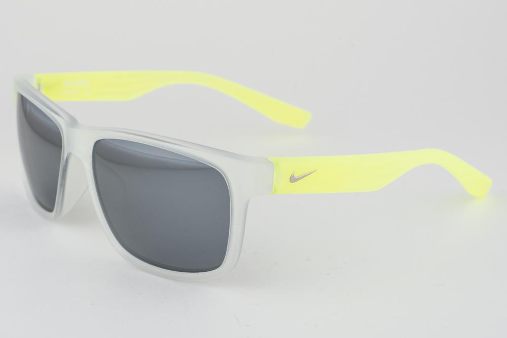 best sneakers 6b830 b2f9a NEW Nike Cruiser Matte Crystal Yellow   Gray Silver Flash Sunglasses EV0835  971