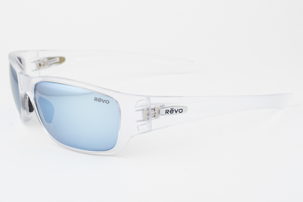 54c739e6249 Details about Revo 4058-09 BL Heading Crystal   Blue Polarized Sunglasses