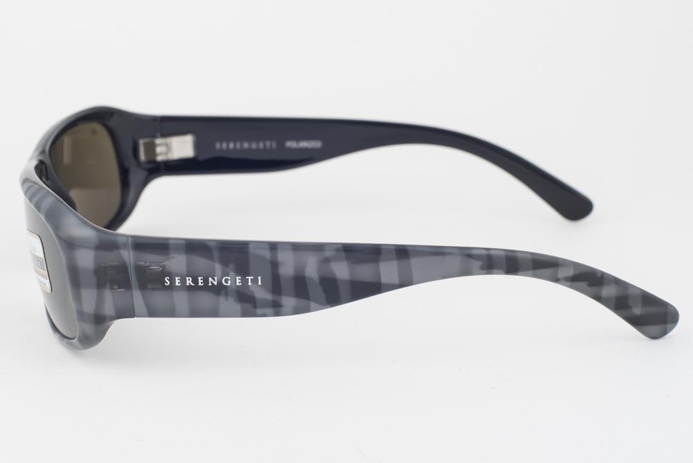 72ce93405933 Serengeti Genova Gray Plaid / 555nm Polarized Sunglasses 7450   eBay