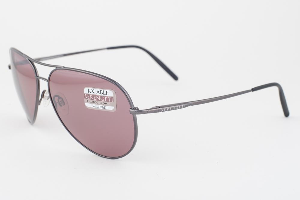 Shiny Gunmetal Serengeti About Sunglasses Polarized Aviator Details 8088 Medium Sedona y7IYbf6gmv