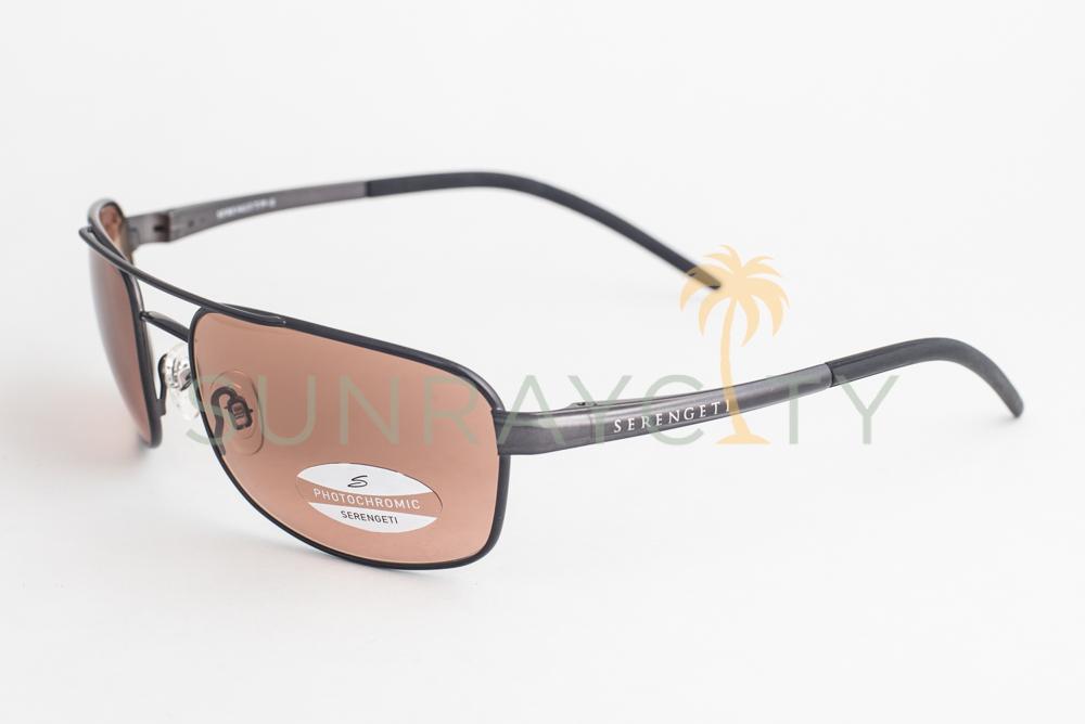 a9bba0a8e4ce Serengeti Riano Shiny Gun Drivers Gradient Sunglasses 7432 ...