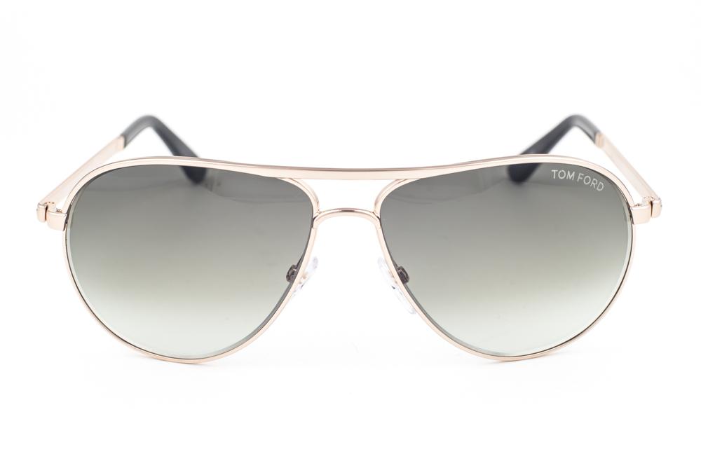 246a88b04b Tom Ford Marko Shiny Gold   Green Gradient Sunglasses TF144 28P ...
