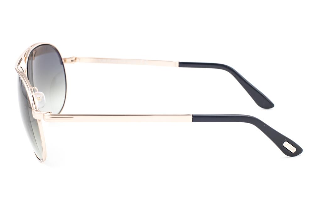 b556ed9e9ac Tom Ford Marko Shiny Gold   Green Gradient Sunglasses TF144 28P ...