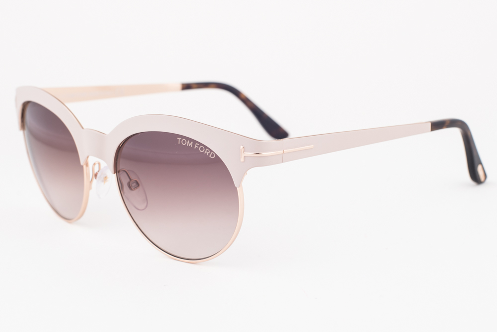 97f74af899 Tom Ford Angela White Gold   Brown Gradient Sunglasses TF438 28F ...