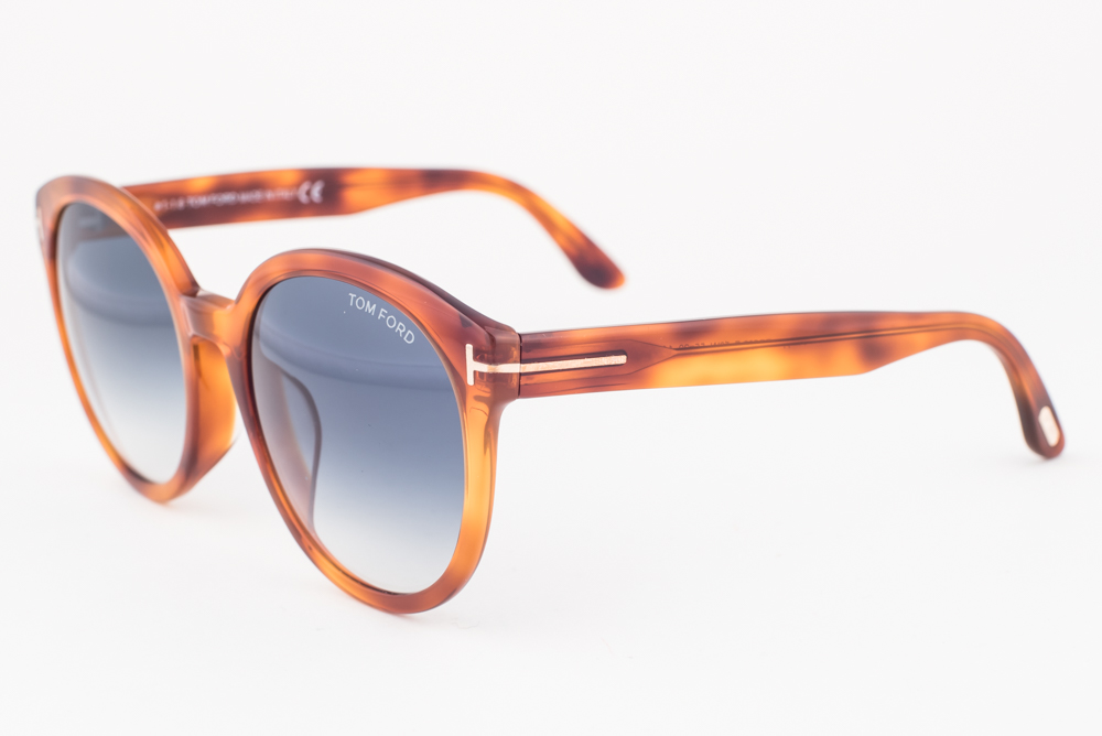3b0373380be Details about Tom Ford Philippa Blonde   Blue Gradient Sunglasses TF503-F  53W Asian Fit