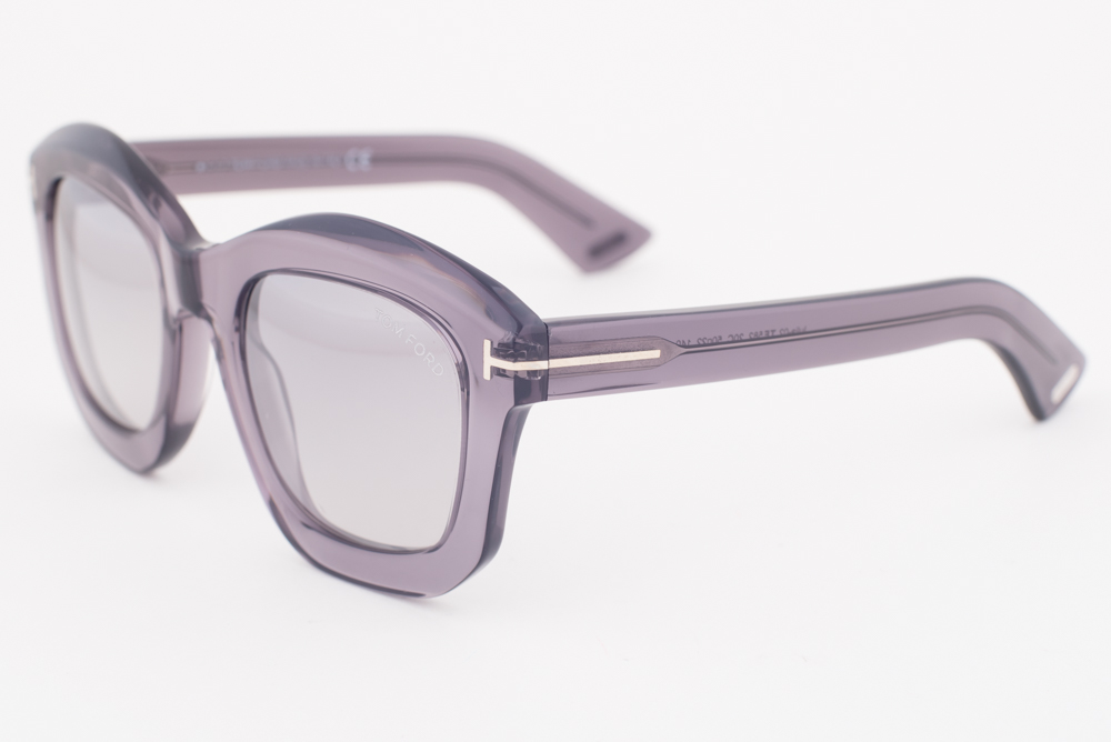 b03d3e33207 Tom Ford Julia Gray   Smoke Mirrored Sunglasses TF582 20C