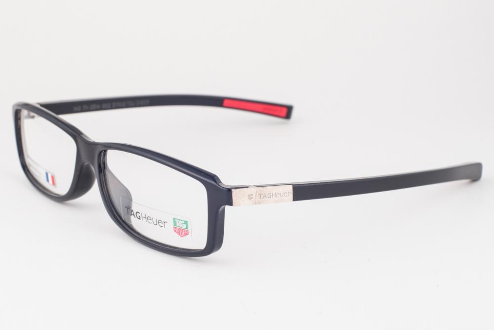 7034c0e01160 NEW Tag Heuer 514 Shiny Black Eyeglasses 514-002