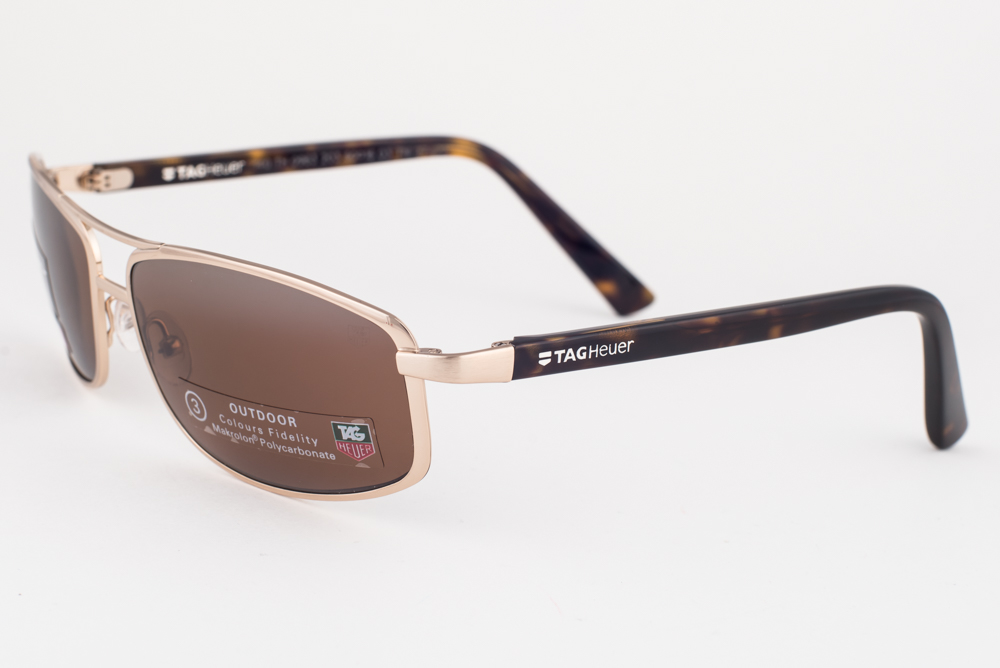 83c44f095 Tag Heuer Ayrton Senna 0983 Gold Tortoise / Brown Outdoor Sunglasses ...